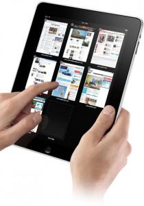 iPad 210x300 Hooked to the iPad