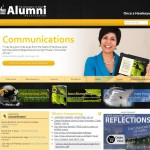 Screenshot of the The University of Iowa Alumni Association website